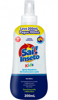 Repelente Sai Inseto Spray Kids 4h - 200ml
